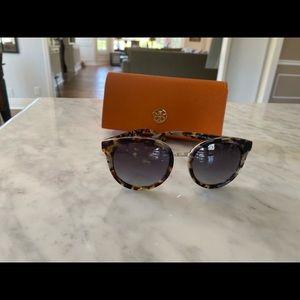 BRAND NEW Tory Burch tortoise color sunglasses